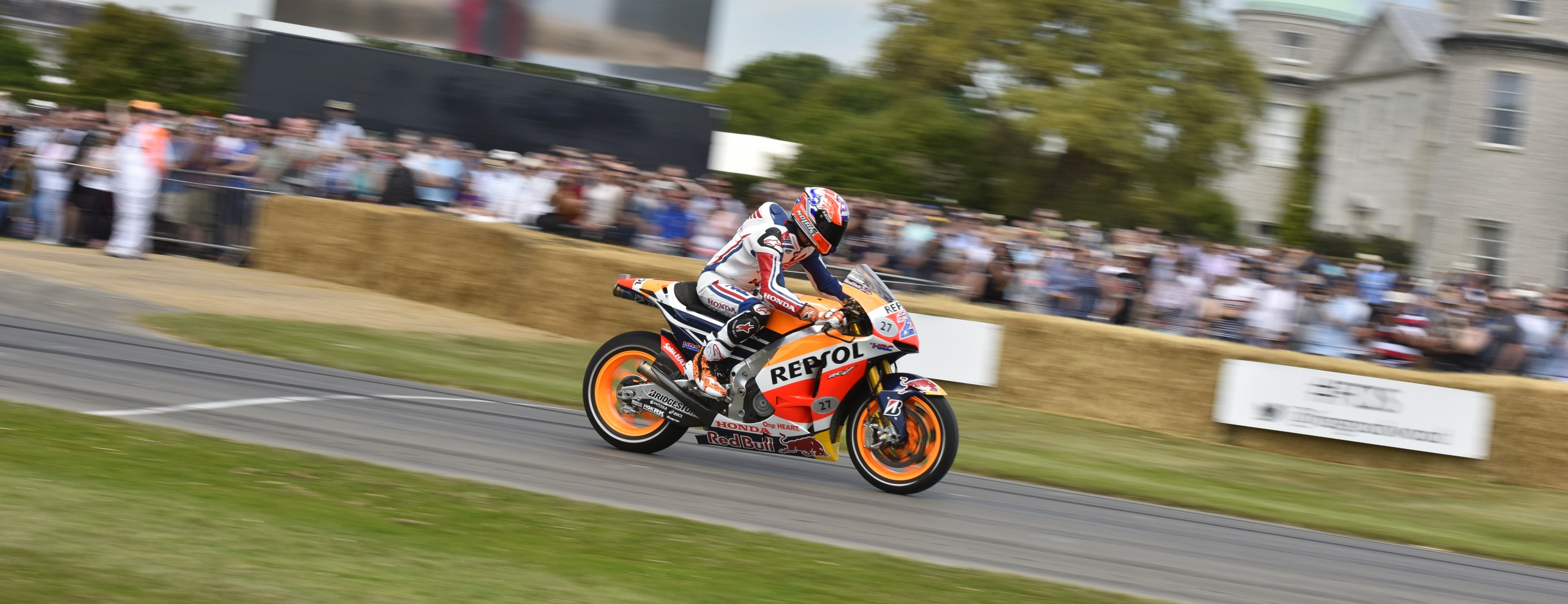 Honda Racing Corporation attends Goodwood Festival of Speed