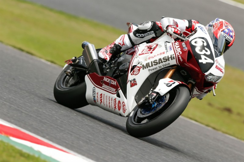 Disappointment for MuSASHi RT HARC-PRO in Suzuka 8 hour as Stoner crashes out