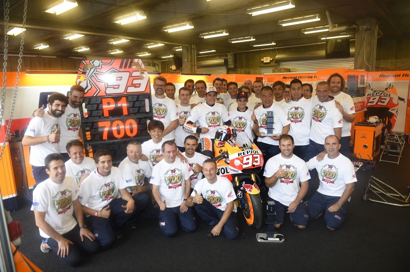 Honda Achieves 700th FIM Road Racing World Championship Grand Prix Victory