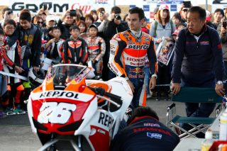 2016 Honda Racing Thanks Day Pedrosa and the Dream Cup CBR250