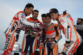 2016 Honda Racing Thanks Day Fujinami, Bou, Busto, Pedrosa, Marquez