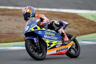 2016 Honda Racing Thanks Day Pedrosa on the RS125R he won the 2003 125cc World Championship with
