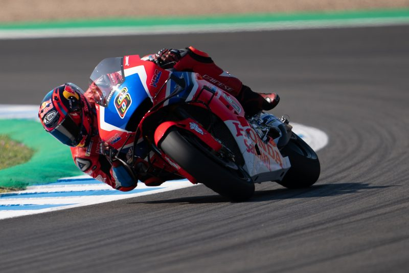 Strong start to Spanish GP for ninth place Stefan Bradl