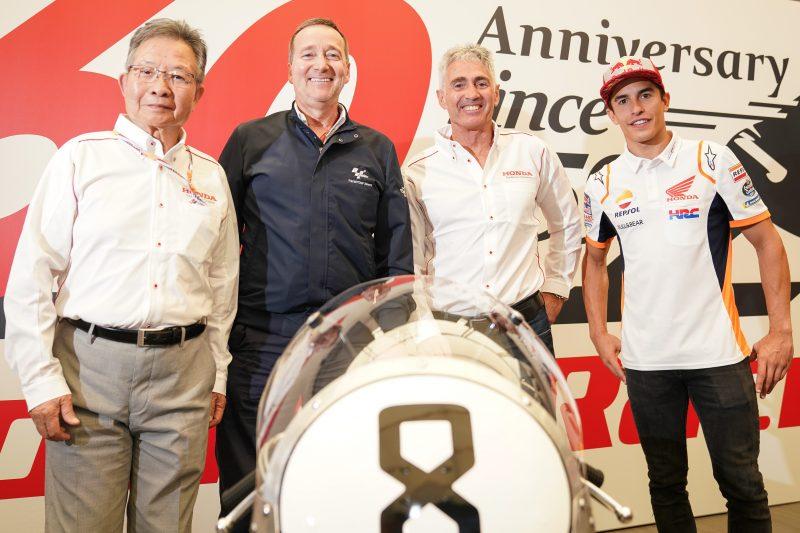 Honda Marks 60th Anniversary of World Championship Racing
