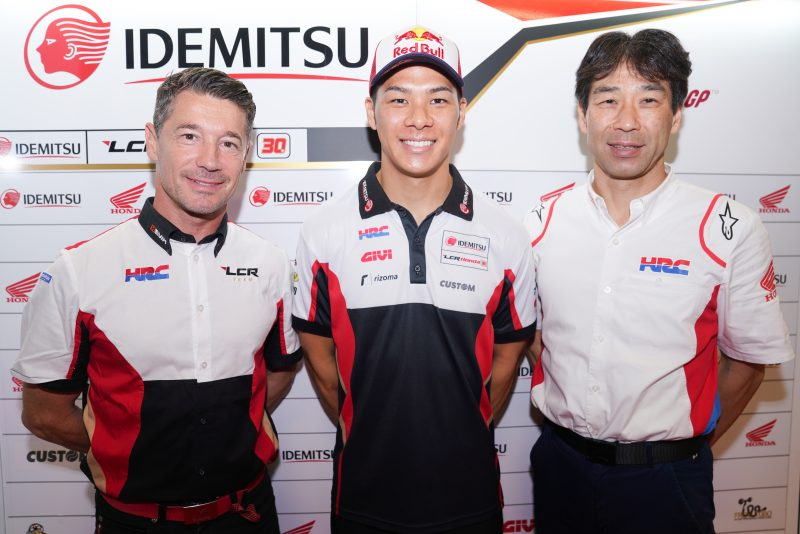 Honda extend contract with Takaaki Nakagami in MotoGP