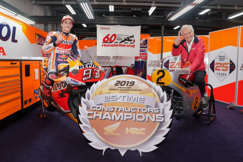 25th Premier Class Constructors Championship for record-breaking Honda
