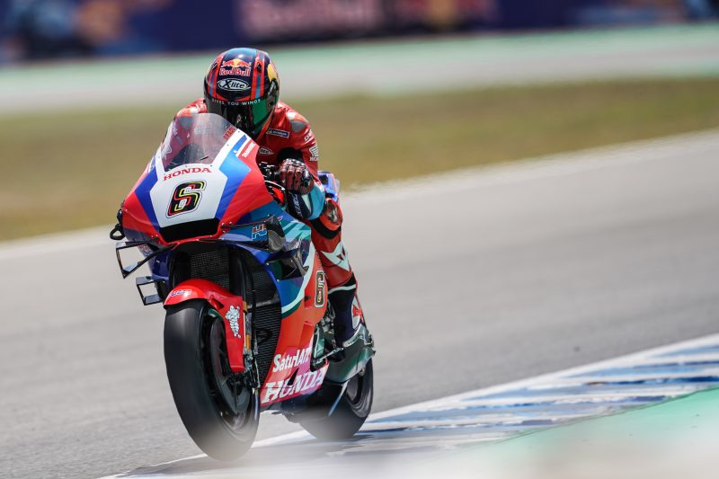 Stefan Bradl completes strong first day in Jerez