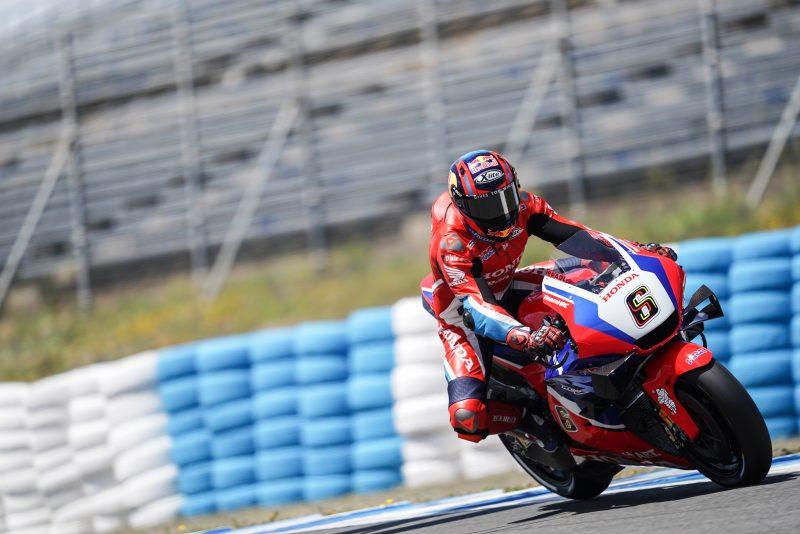 Bradl battles in Jerez Q2