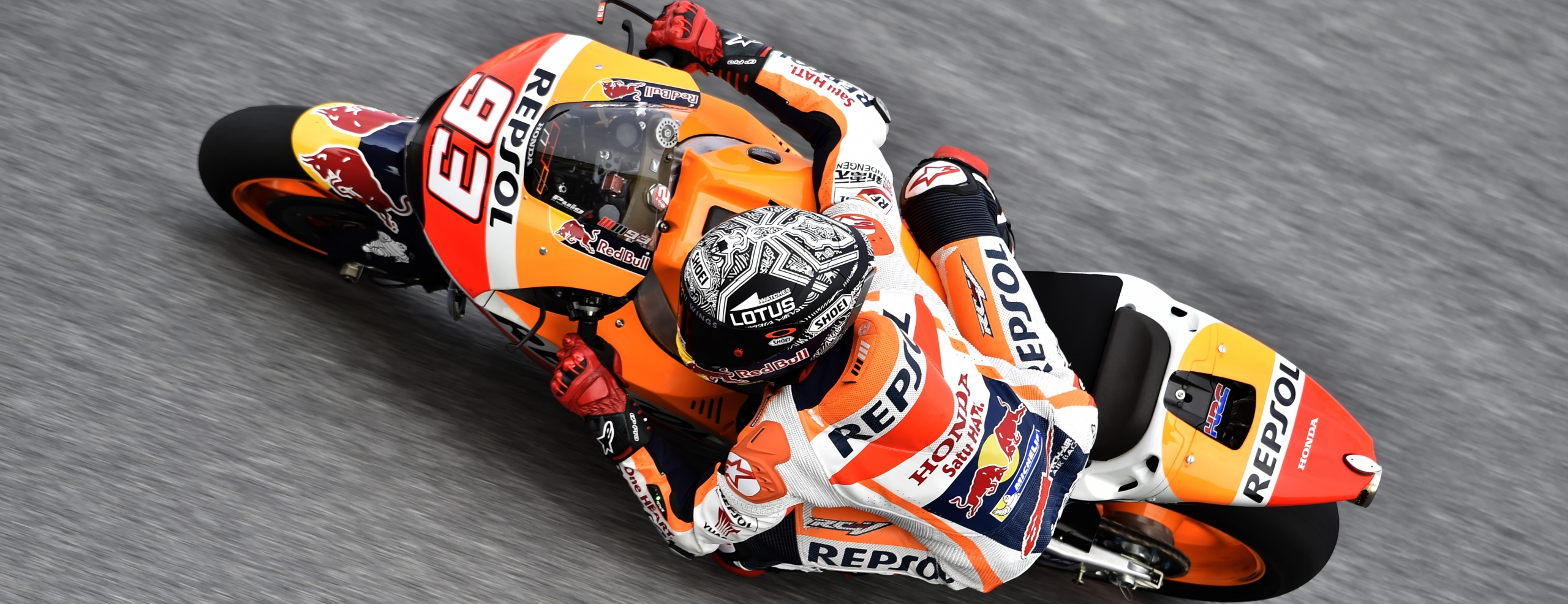 Repsol Honda Team makes the most of test's weather-affected last day