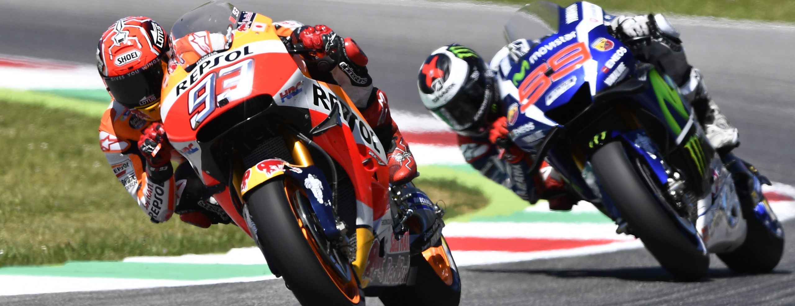 Magnificent second place for Marquez after intense battle with Lorenzo, Pedrosa just off the podium