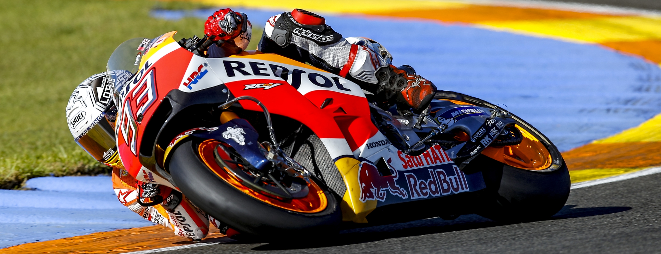 Positive end of Valencia test for Marquez in 2nd place and Pedrosa in 5th