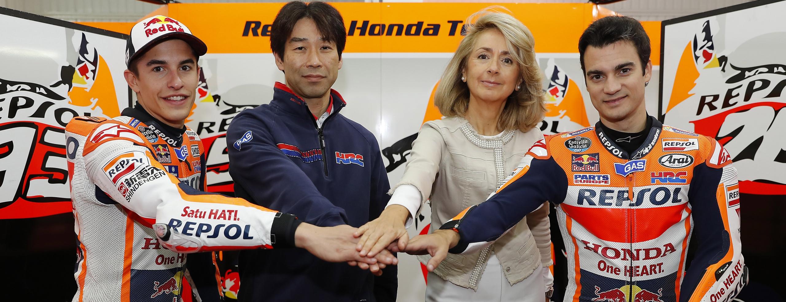Repsol and Honda extend MotoGP contract until 2018