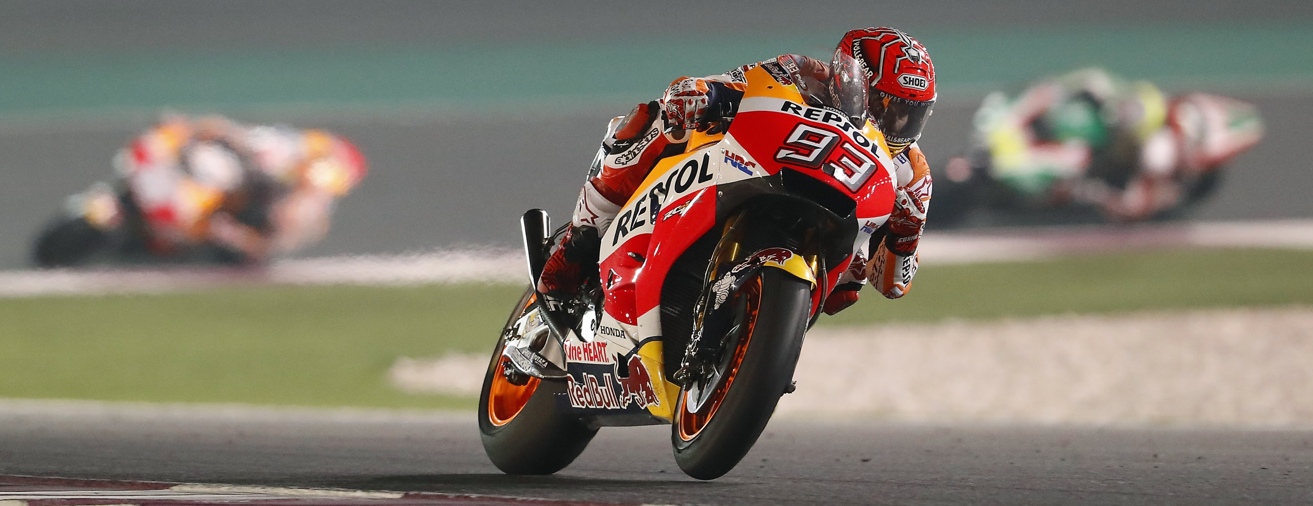 Marquez fourth, Pedrosa fifth in weather-affected Qatar evening