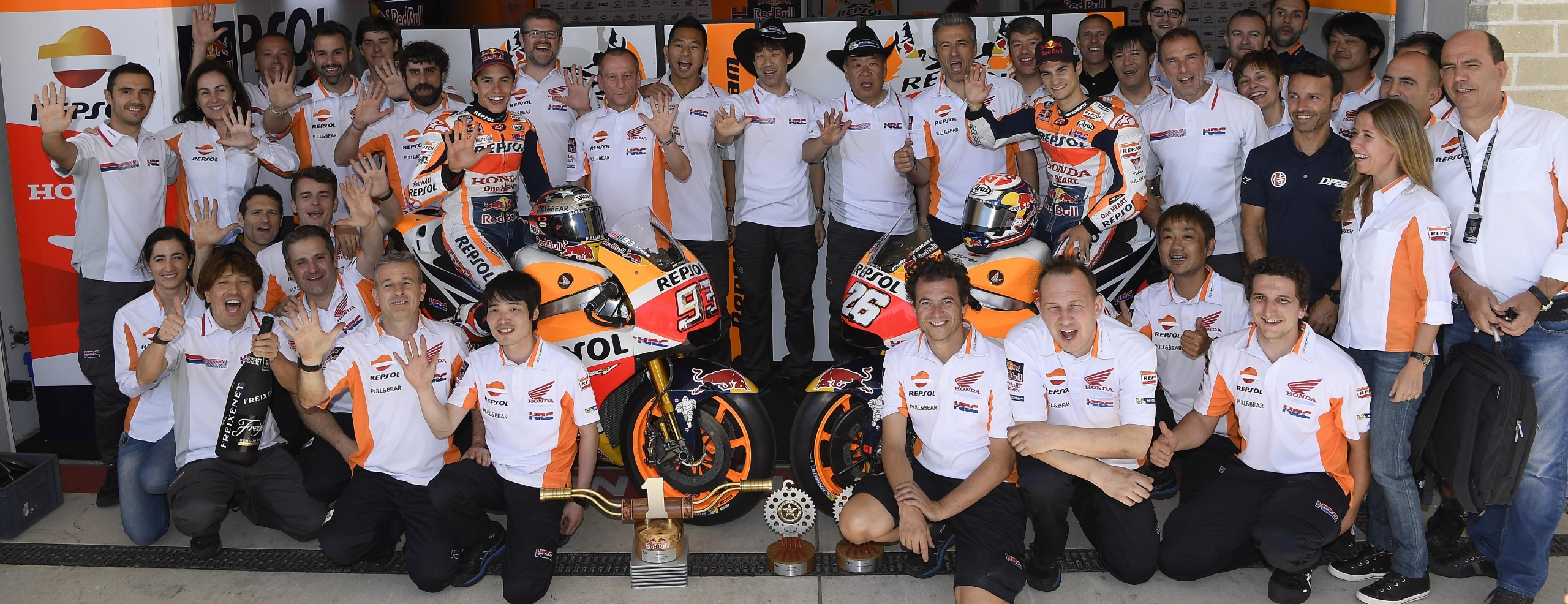 PHOTO GALLERY – Double podium finish for Repsol Honda Team at the GP of the Americas