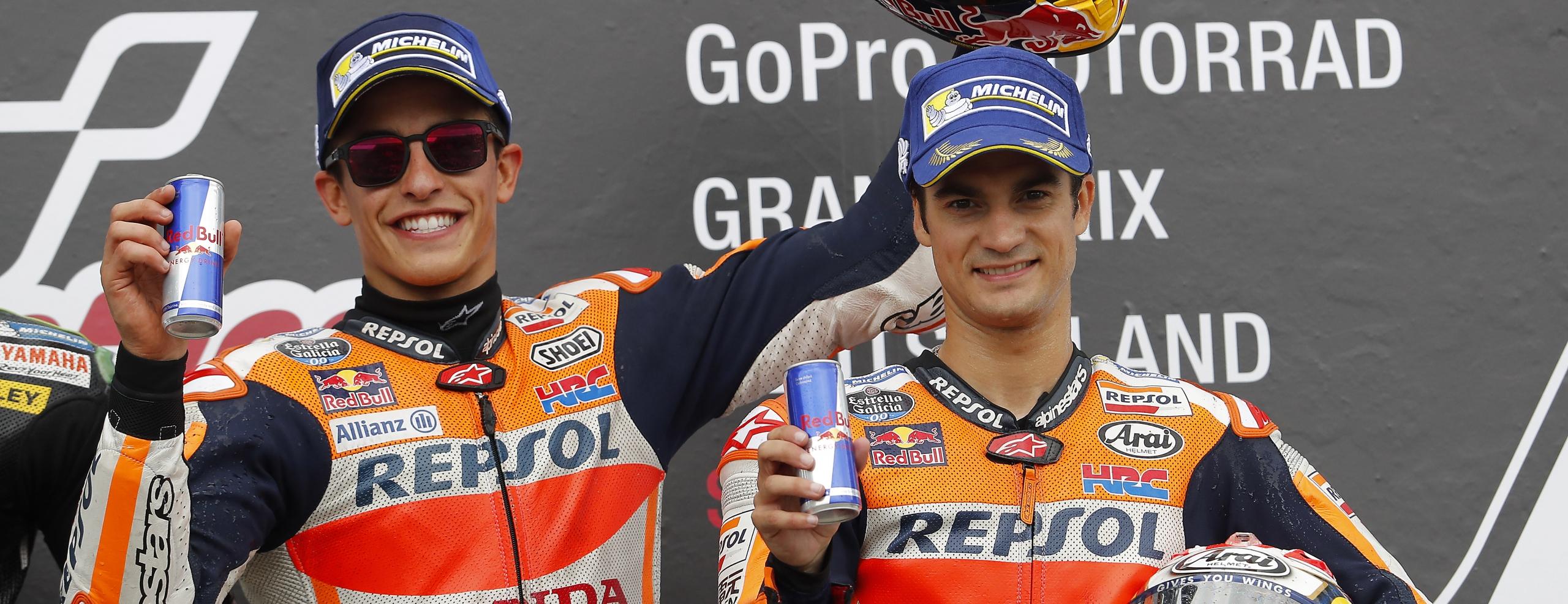 Eighth Sachsenring win for Marquez, Pedrosa third for fourth Repsol Honda Team double-podium this season