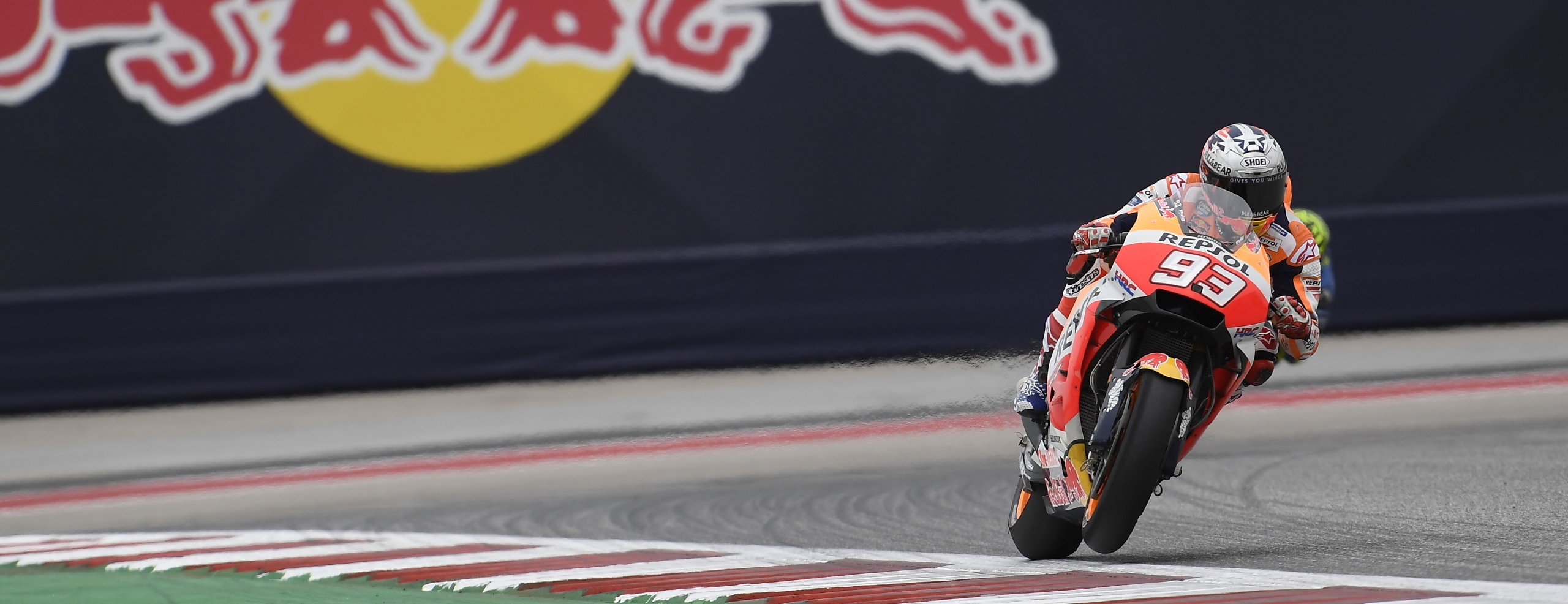 Marquez second-fastest at a dusty Austin track, Pedrosa a brave 10th