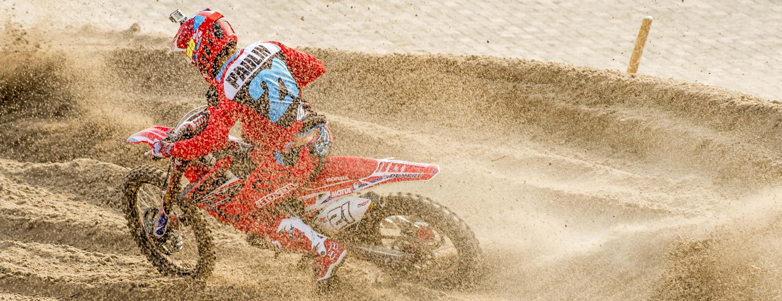 Challenging start to the MXGP of the Netherlands for Team HRC
