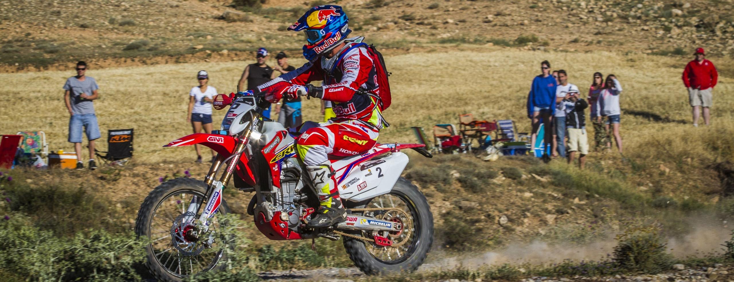 Joan Barreda and Honda dominate the Baja Aragón