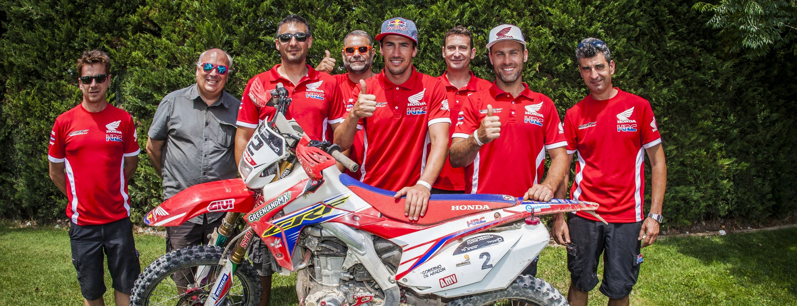 Victory for Barreda in the Baja Aragón 2016