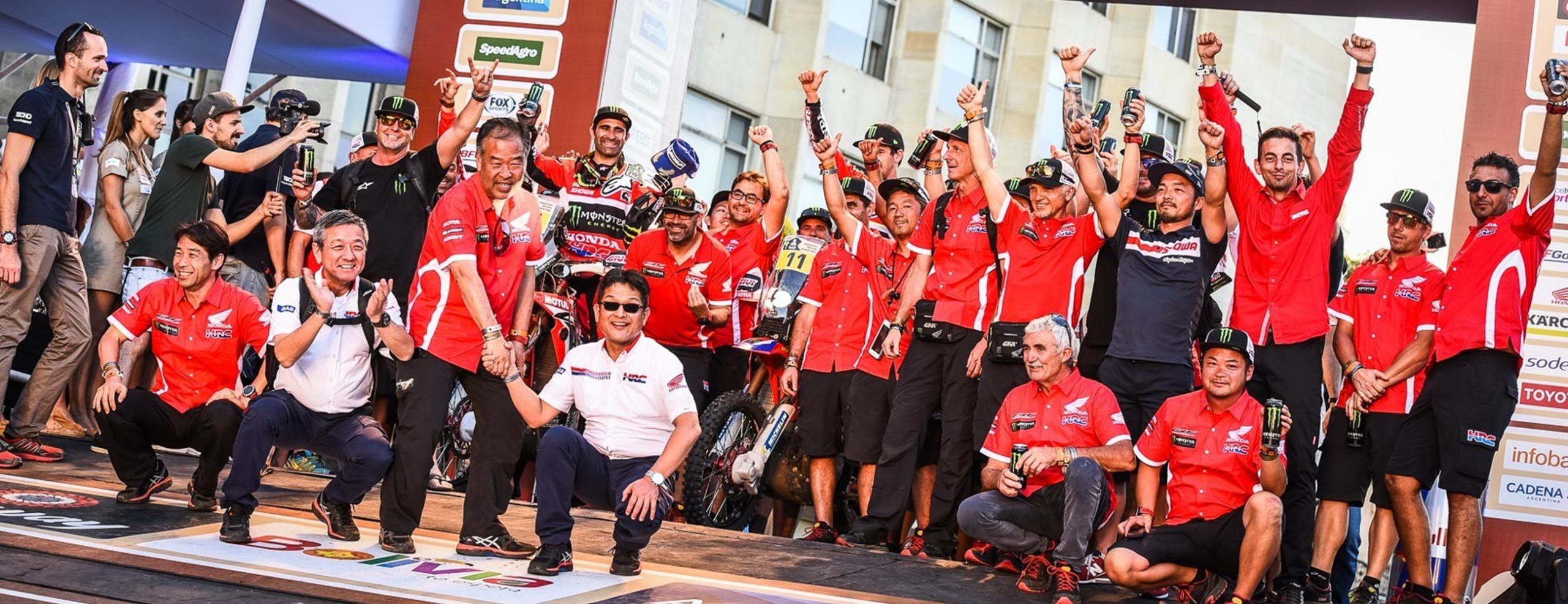 Dakar Rally: Monster Energy Honda Team vow to fight on