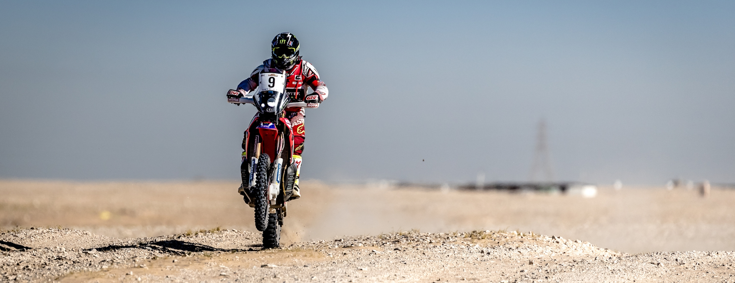 Monster Energy Honda Team finishes second in the Qatar Rally