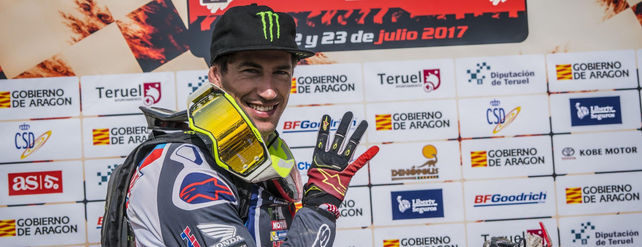 Joan Barreda wins the Baja Aragon 2017