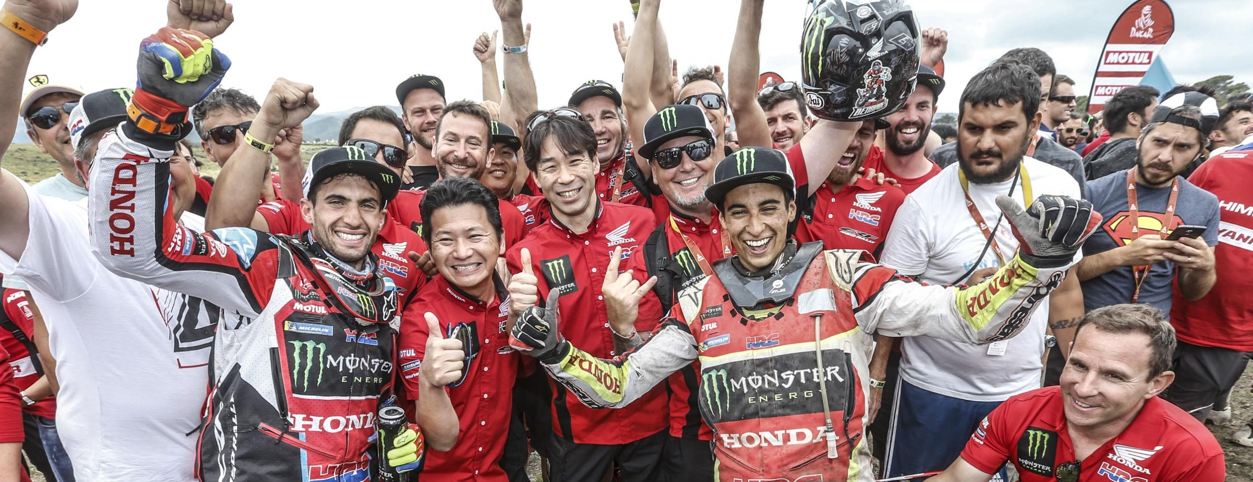 Monster Energy Honda Team achieves second place in the Rally Dakar with Kevin Benavides