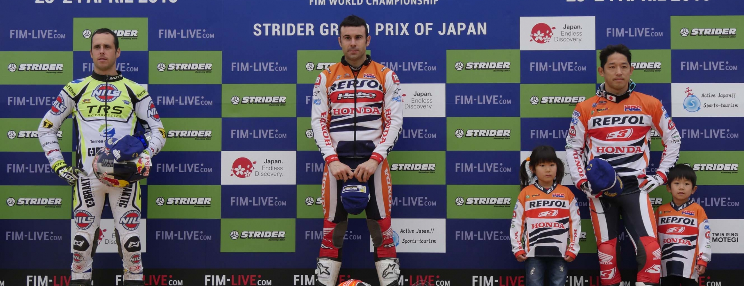 Toni Bou in Japan, like at home. Fujinami celebrates 300 trials with a podium place.