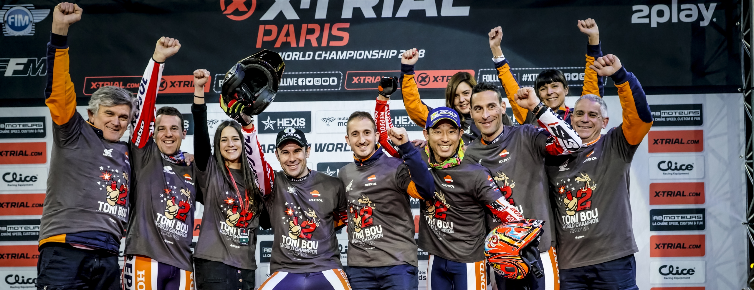 Toni Bou, mightier than ever, clinches a twelfth X-Trial title in Paris