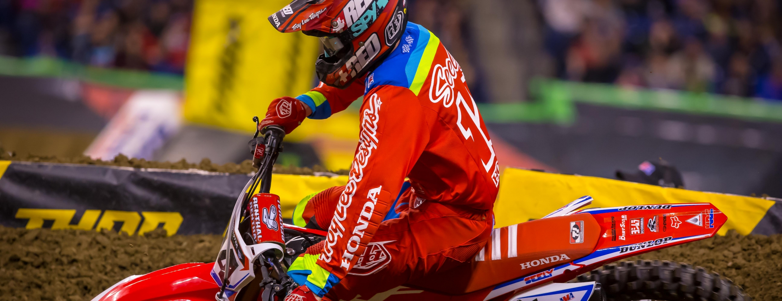 Seely Takes Home Fifth at Indianapolis Supercross