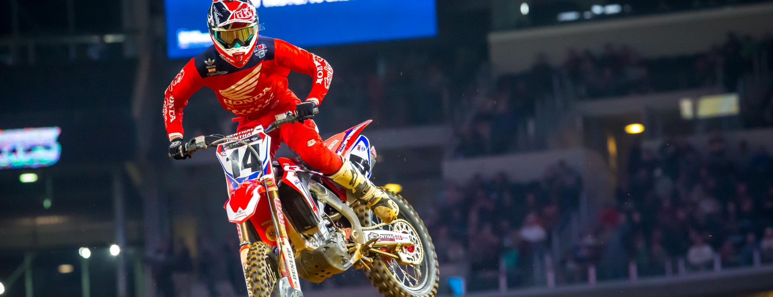 Seely Fifth at Arlington Supercross